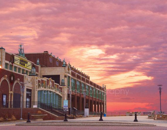 This is a print of Convention Hall in Asbury Park, New Jersey at sunrise. I have lived at the Jersey Shore almost my entire life, and enjoy sunrise photography. Customers purchase my art prints for different reasons. Whether you have moved away from the area, or are away at college—my art prints can hopefully provide you a reminder of New Jersey Beaches. Others just appreciate the beach and Jersey Shore, and have decorated their homes with my photography. Whatever your reason may be, I…