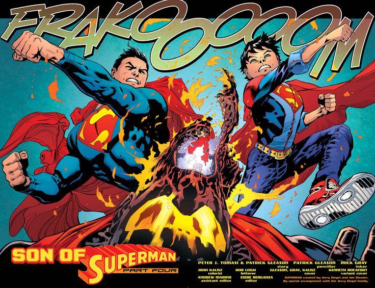Resultado de imagen para patrick gleason superman