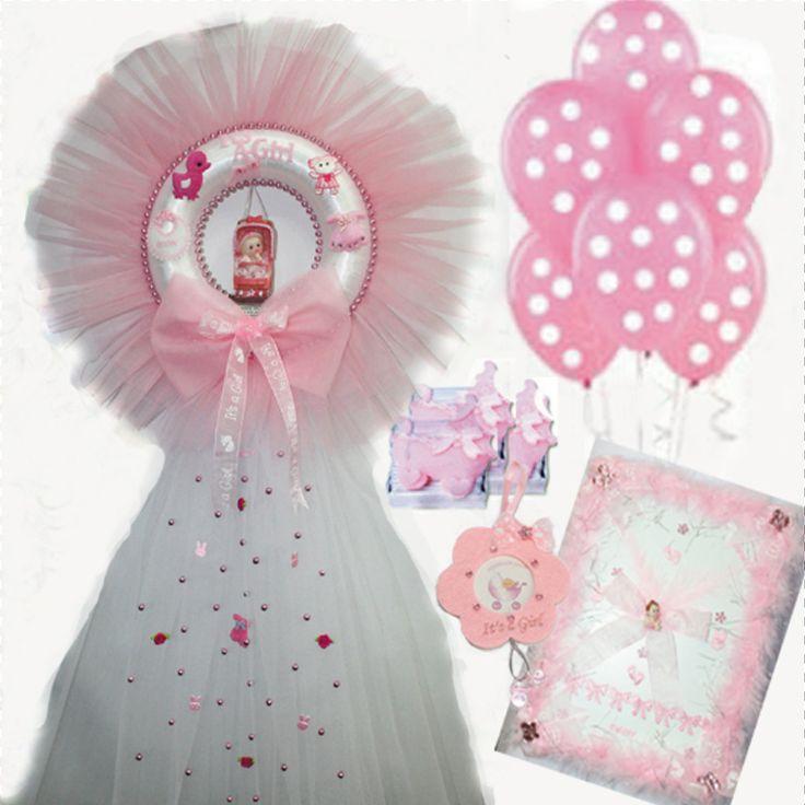 It's a Girl gift set / Kız Bebek Hastane Hediye seti