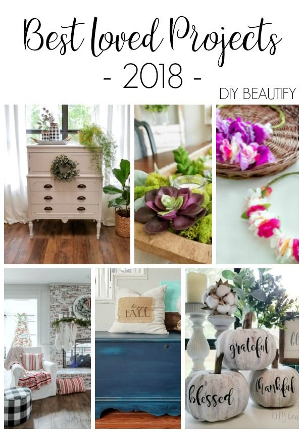 Best Home Decor And Diy Projects Of 2018 Easy Fall Crafts Diy
