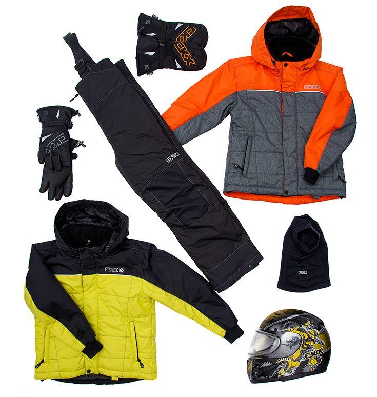 CKX 2016 - Kids Snowmobile Clothing - FROSTY Suit - Mecanic Helmet - Accessories - ckxgear.com