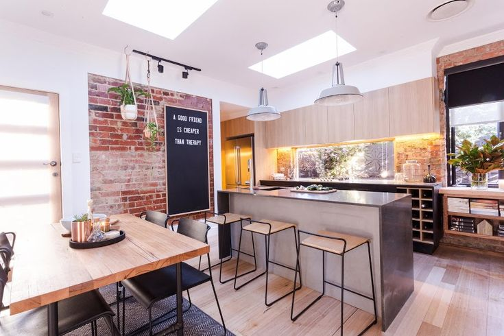 Carly and Leighton kitchen and dining