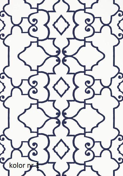 Tapeta papierowa OGDEN z kolekcji Imperial Garden firmy Thibaut - cena   sklep internetowy Francuska Weranda