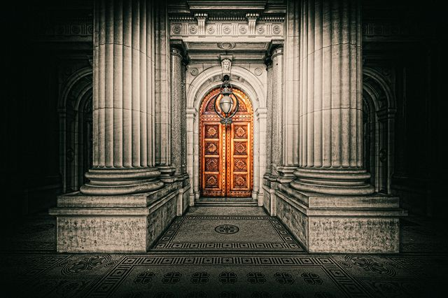 Parliament House Door Melbourne. Purchase this print in a beautifully prepared frame.  http://www.nikartphotography.com/