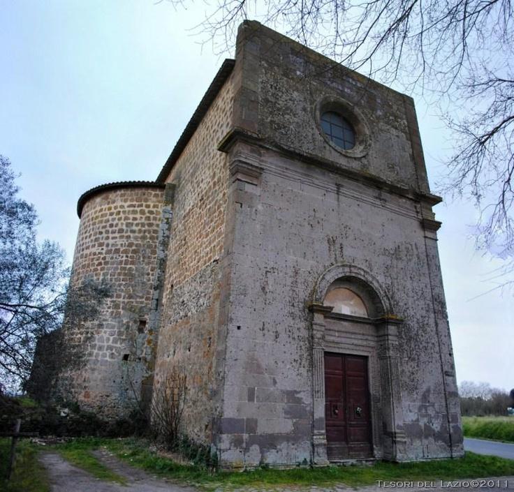 #Tuscania (Viterbo), #Lazio - Chiesa della Madonna dell'Olivo - Photo G. Garofoli (03-2011) - © All rights reserved - Tesori del Lazio