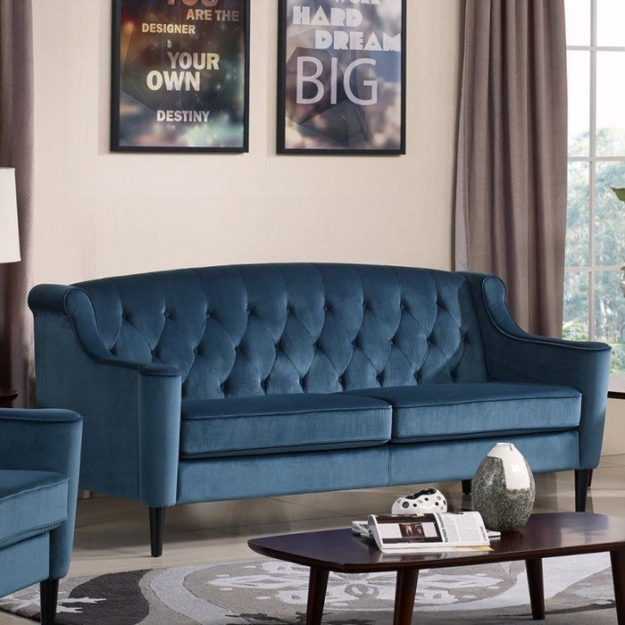 Crewkerne Velour Standard Sofa Sofa Luxury Sofa Best Sofa