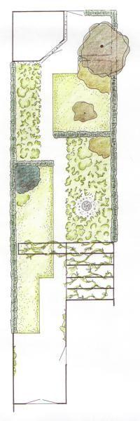 smalle achtertuin tuinontwerp - Google zoeken