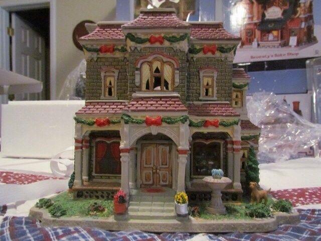 298 best Christmas Village images on Pinterest | Christmas ...
