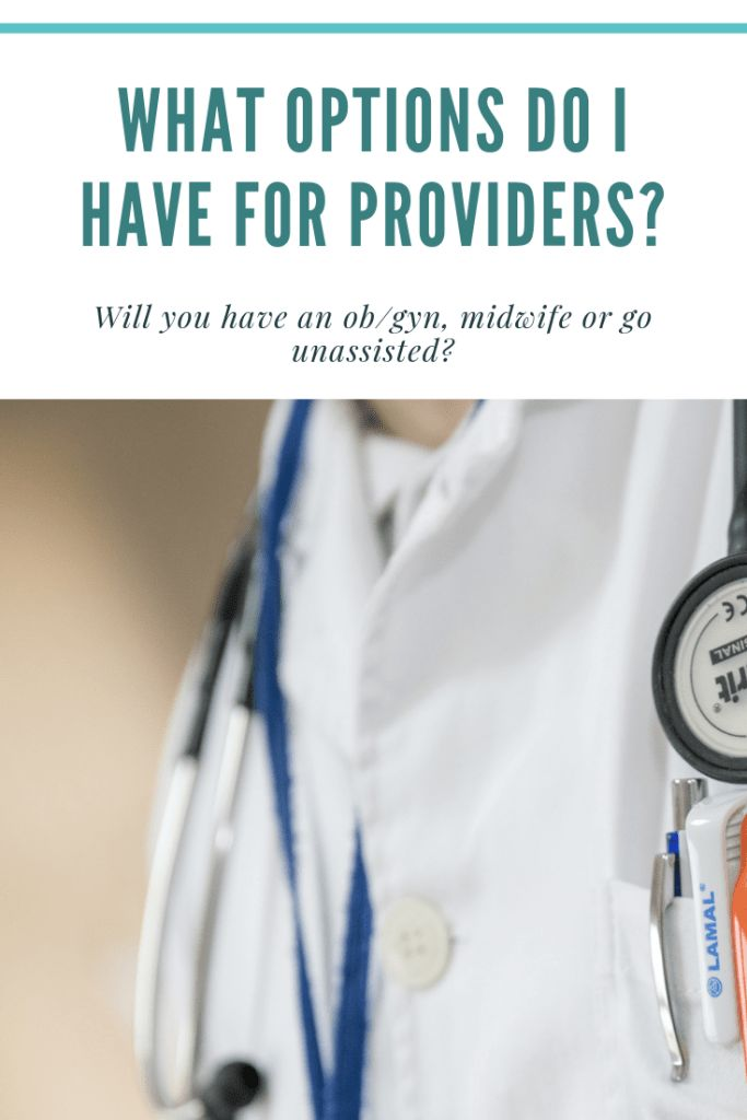 What options do I have for providers?