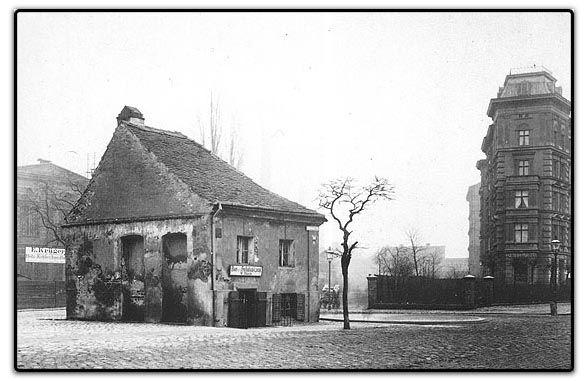 BERLIN um 1880, der Eisbock am Schlesischen Tor, Photo: F. A. Schwartz