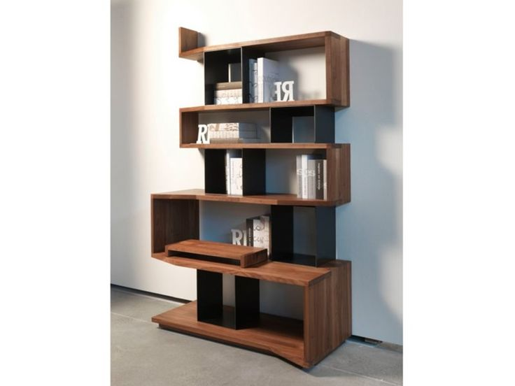 Open wall-mounted wooden TV wall system VAMIZI SMALL by Riva 1920   design Terry Dwan
