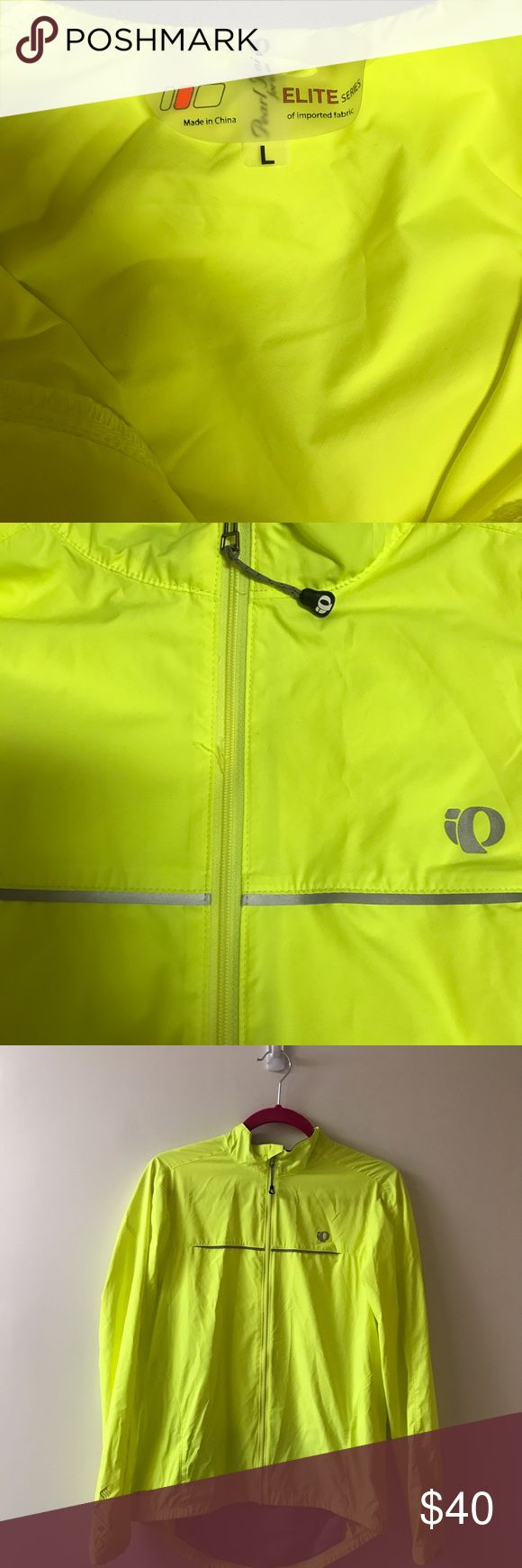 PEARL IZUMI- Yellow Women's Cycling Jacket This screaming yellow cycling jacket is perfect for wearing on a long bike ride or just as a fashion statement. Good quality and intense color give it a fun vibe! New without tags condition with no flaws. True to size. 🌷Offers always welcome!🌷 Pearl Izumi Jackets & Coats