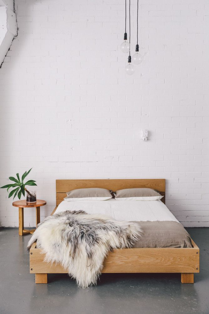 mrandmrswhite:  Beam Bed | Mr & Mrs White