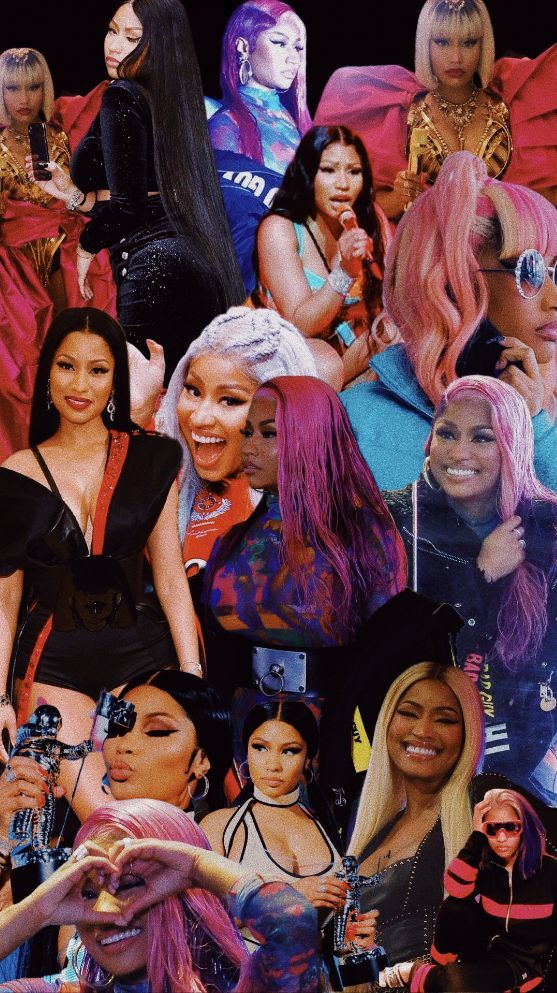 nicki minaj wallpaper/collage Nicki minaj wallpaper