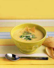 creamy summer squash soup