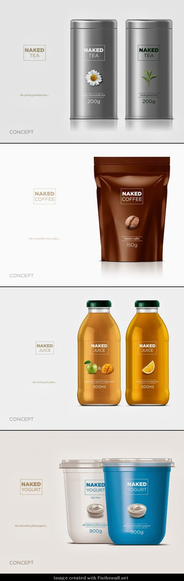 NAKED (Concept)   Horea Grindean. Lets all get naked, #packaging that is : ) PD