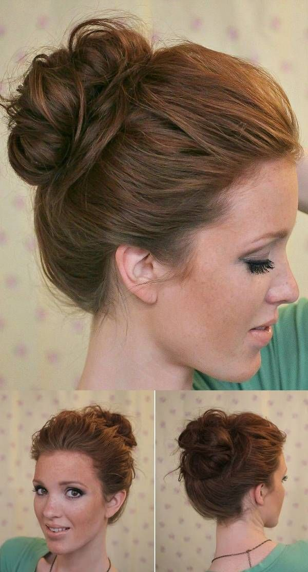 Easy To Manage Hairstyles For Long Hair : Pin by rose thomas on hair nails makeup