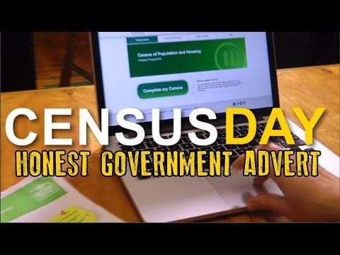 Honest Government Advert - Census Day
