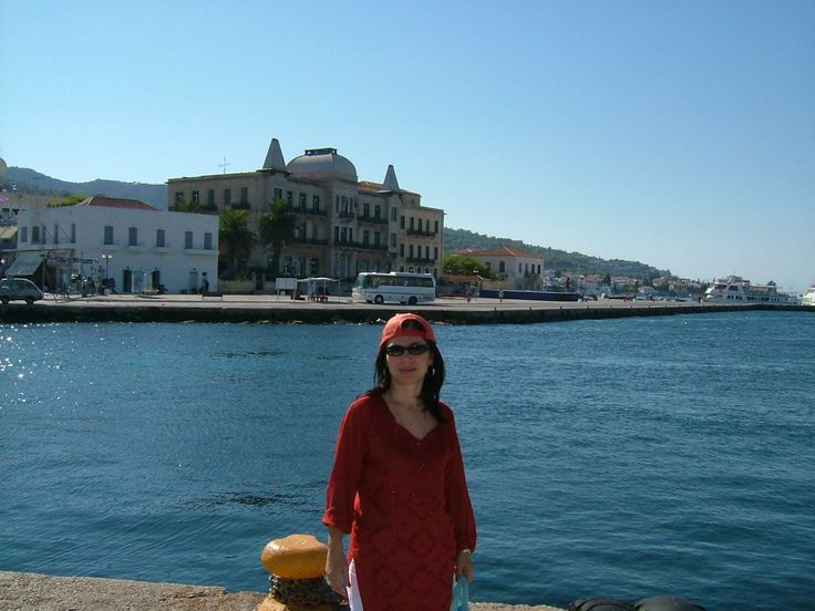 The island of Spetses, Greece