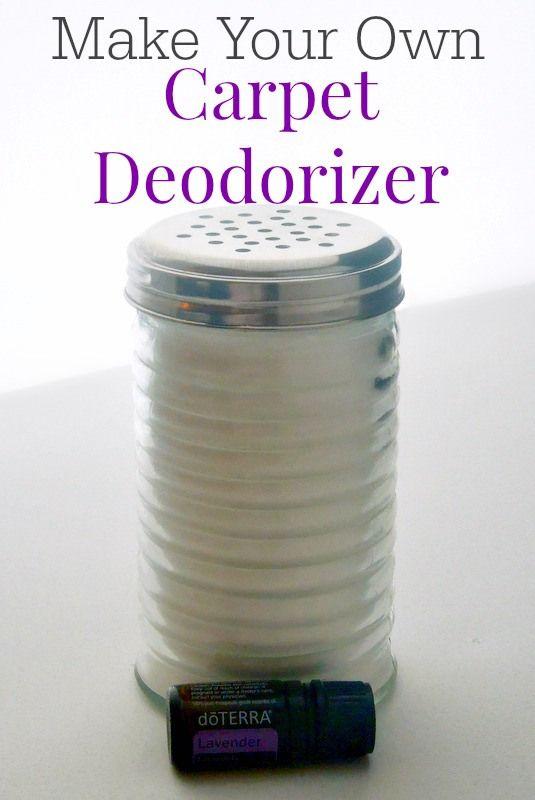 Desodorante para las alfombras?