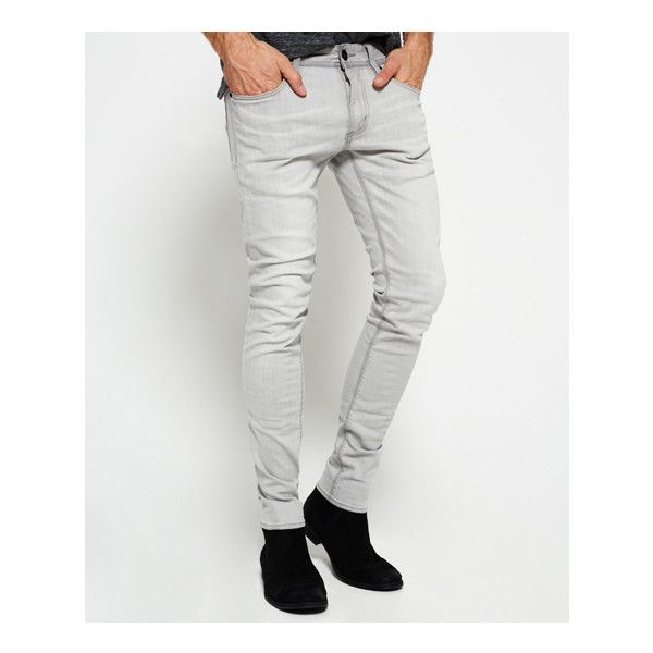Superdry Skinny Jeans ($84) ❤ liked on Polyvore featuring men's fashion,  men's clothing - Best 25+ Grey Skinny Jeans Mens Ideas On Pinterest Mens