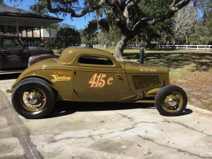 ifuckingloveoldschoolshit | zeeman57: 1933-34 Ford 3-Window Coupe - Hot Rod in...