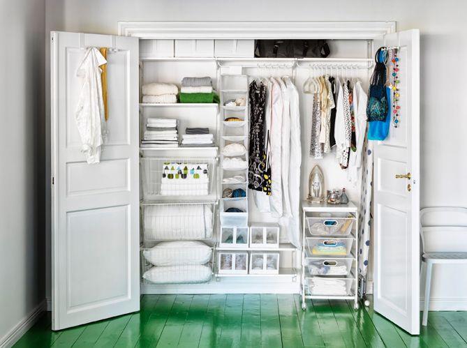 Dressing Ikea  armoires, meubles et astuces pour organiser son