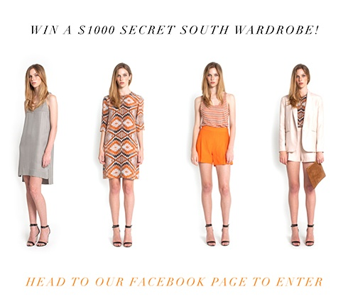 Win a Secret SouthWardrobe! Head to our facebook page to win!