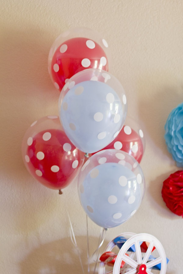 Circus Clown 1st Birthday Party - Kara's Party Ideas - The Place for All Things…