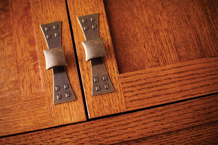 Craftsman Style Hardware for cabinets