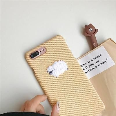 Animal Cartoon Fabric iPhone Cute Phone Cases From Touchy Style Outfit Accessori…