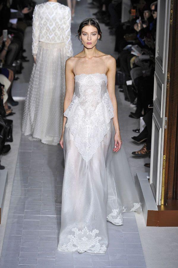Semana da Moda de Paris: vestidos de noiva 2013. #casamento #vestidodenoiva #cai-cai