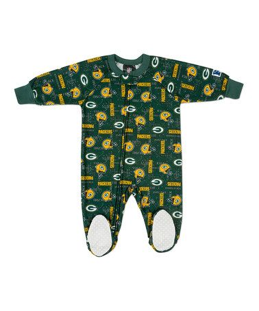 Take a look at this NFL Green Bay Packers Footie - Toddler by NFL Game Day: Kids' Apparel & Accents on #zulily today!