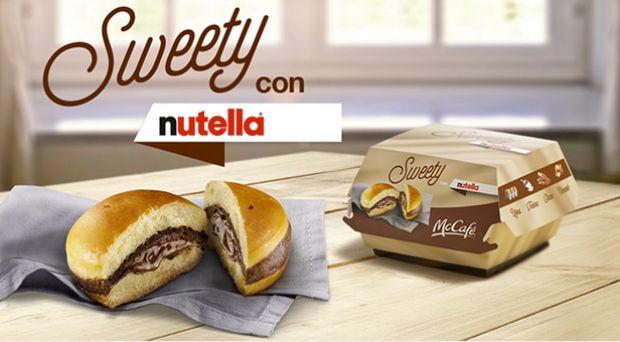 Los amantes del dulce siempre han tenido contundentes opciones de postre en McDonald's. Pero ninguna tan 'bestia' como la que la cadena de comida rápida va a ofrecer en Italia: una hamburguesa de Nutella.  Que nadie se asuste. No es un trozo de carne con bacon queso y encima crema chocolate. Se trata