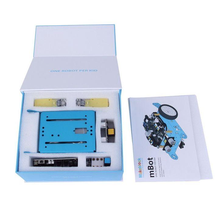 31 best robot kits images on pinterest robot kits robot and car makeblock mbot educational robot kit for arduino kids bluebluetooth version amazon solutioingenieria Images