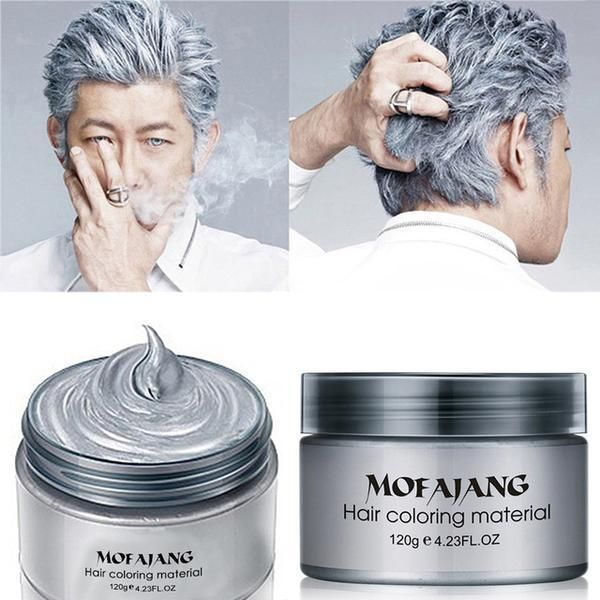 Color Hair Styling Wax It Contains An Innovative Component Which Protects And Provides Glamour Colour To Hair As Des Hair Wax Temporary Hair Dye Diy Hair Color