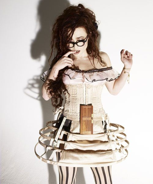 """""""Helena Bonham Carter: 'We're the bonkers couple' ~ The actor tells Simon Hattenstone about life with Tim Burton, their latest spectacular, Alice In Wonderland – and being branded a 'disastrous dresser'"""" ~ Helen's quote: """" I feel more sexy than ever, not because I'm sexually attractive, I just feel I've grown into my body."""" ♥ HER!"""