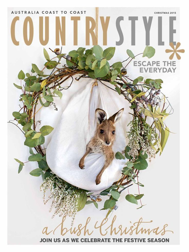 Our special Christmas issue is on sale today! Find it at newsagents and supermarkets or digitally via Zinio au.zinio.com/countrystyle, Google Play bit.ly/19WdFSp, Apple Newsstandapple.co/1rXxudv and Nookbit.ly/1GwOouk Photography Kara Rosenlund