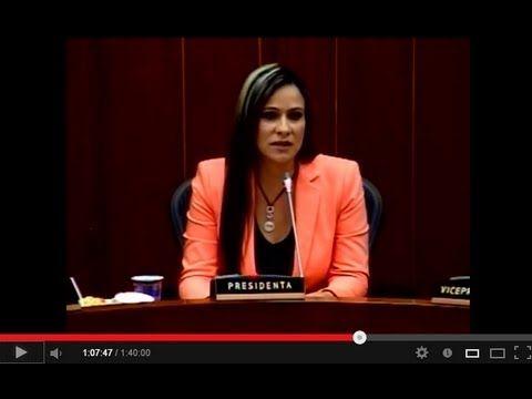 Senadora Maritza Martínez - Posesión Presidencia de la Comisión Quinta del Senado de la República