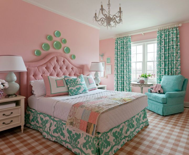 Best 25 pink turquoise ideas on pinterest - Pretty bedroom decorations ...