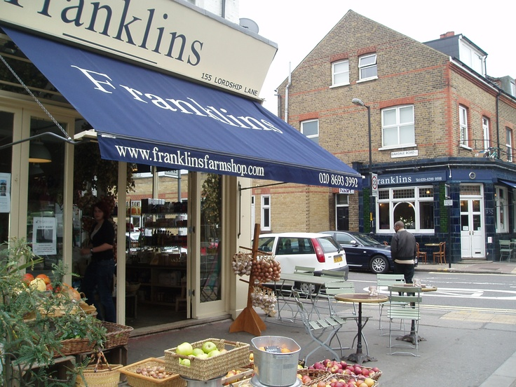 Franklins, Dulwich. A thriving independent deli.