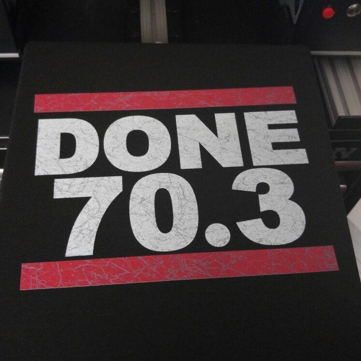 DONE 70.3 Triathlon Tshirt 👊😎