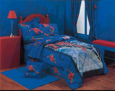 10 amazing themed kids bedrooms by the time shawn was his bedroom was all spiderman he had every spiderman product on the market he was very spoiled