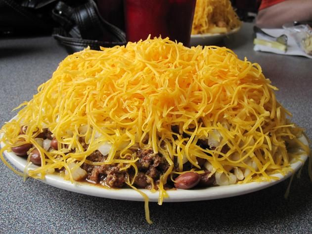 The 20 Most Iconic Food Destinations Across America | Travel | Smithsonian Magazine - ah, Cincinnati Chili!
