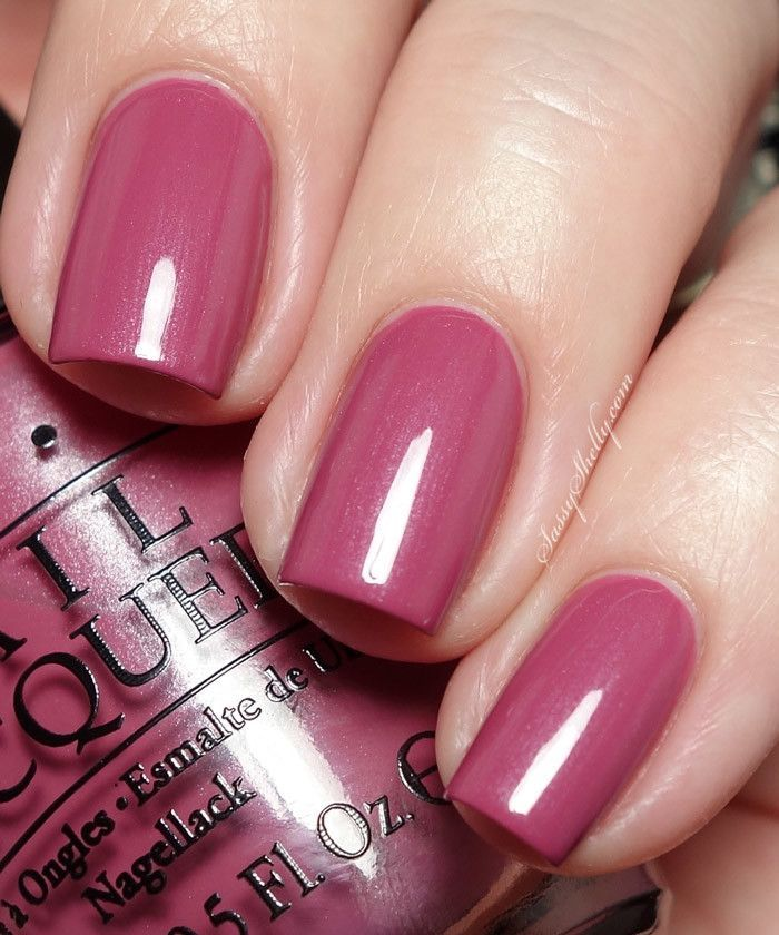 OPI Hawaii Collection Just Lanai-ing Around is a shimmery blush mauve.