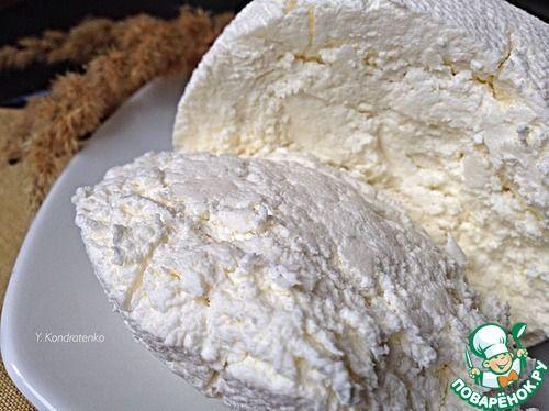 Крем-сыр из сметаны и молока - кулинарный рецепт