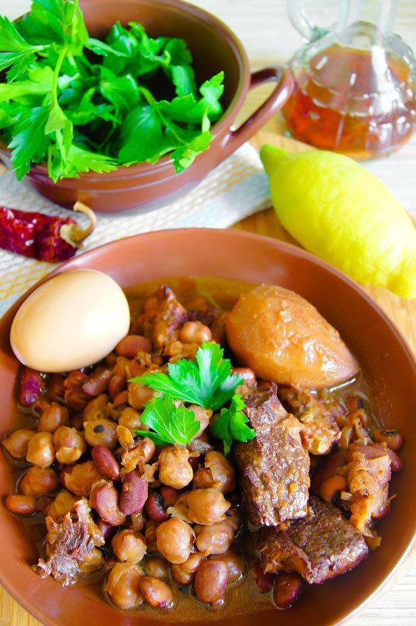 Хамин рецепт приготовления | Hamin recipe