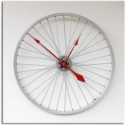 ECO IDEAS :: bicycle wheel = new watch!
