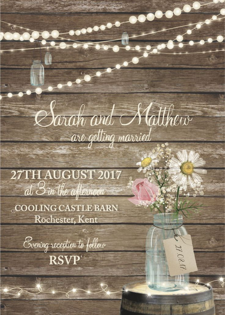 the 25+ best country wedding invitations ideas on pinterest, Wedding invitations