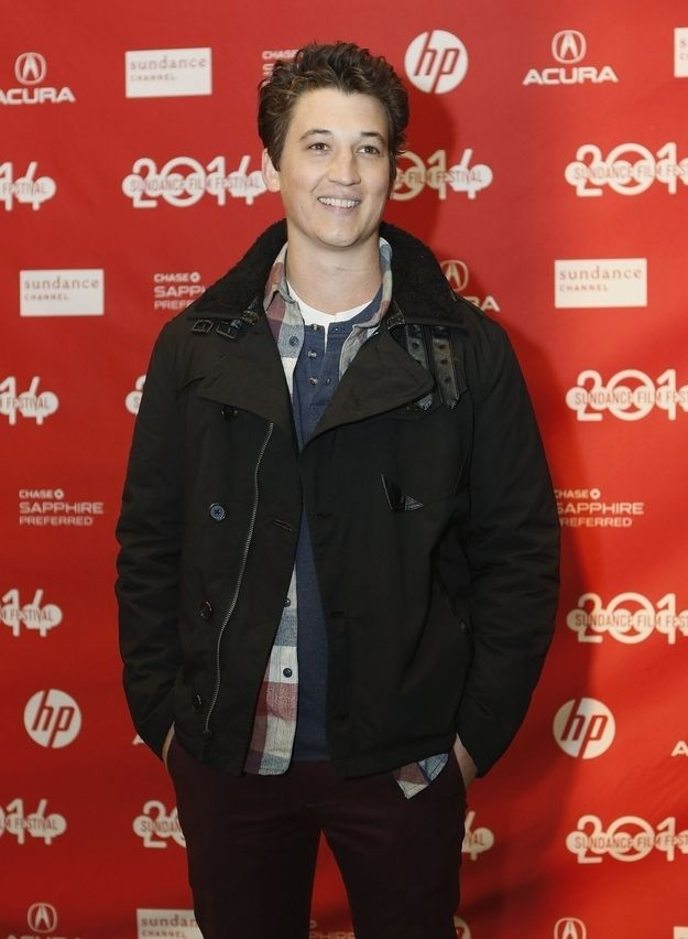 This is Miles Teller. | 21 Reasons Miles Teller Should Be Your Next Celebrity Crush He is absolutely adorable! Loved him in Footloose, too!
